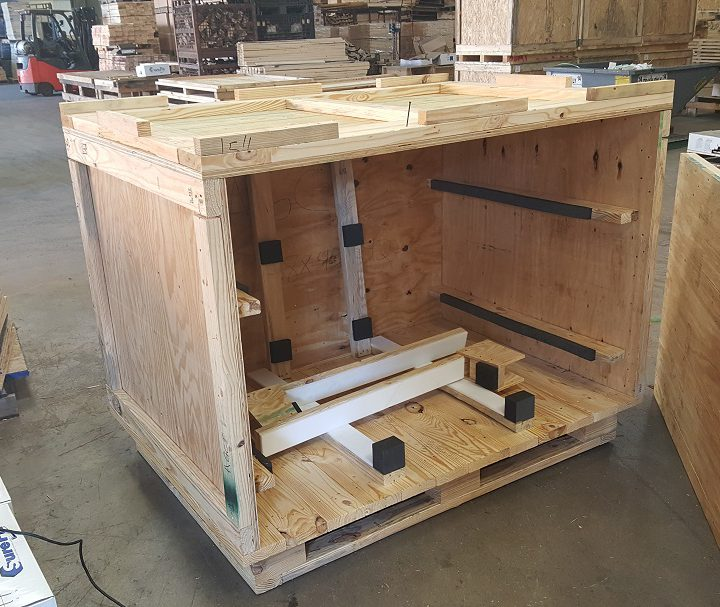 Packing and Crating Delivery System
